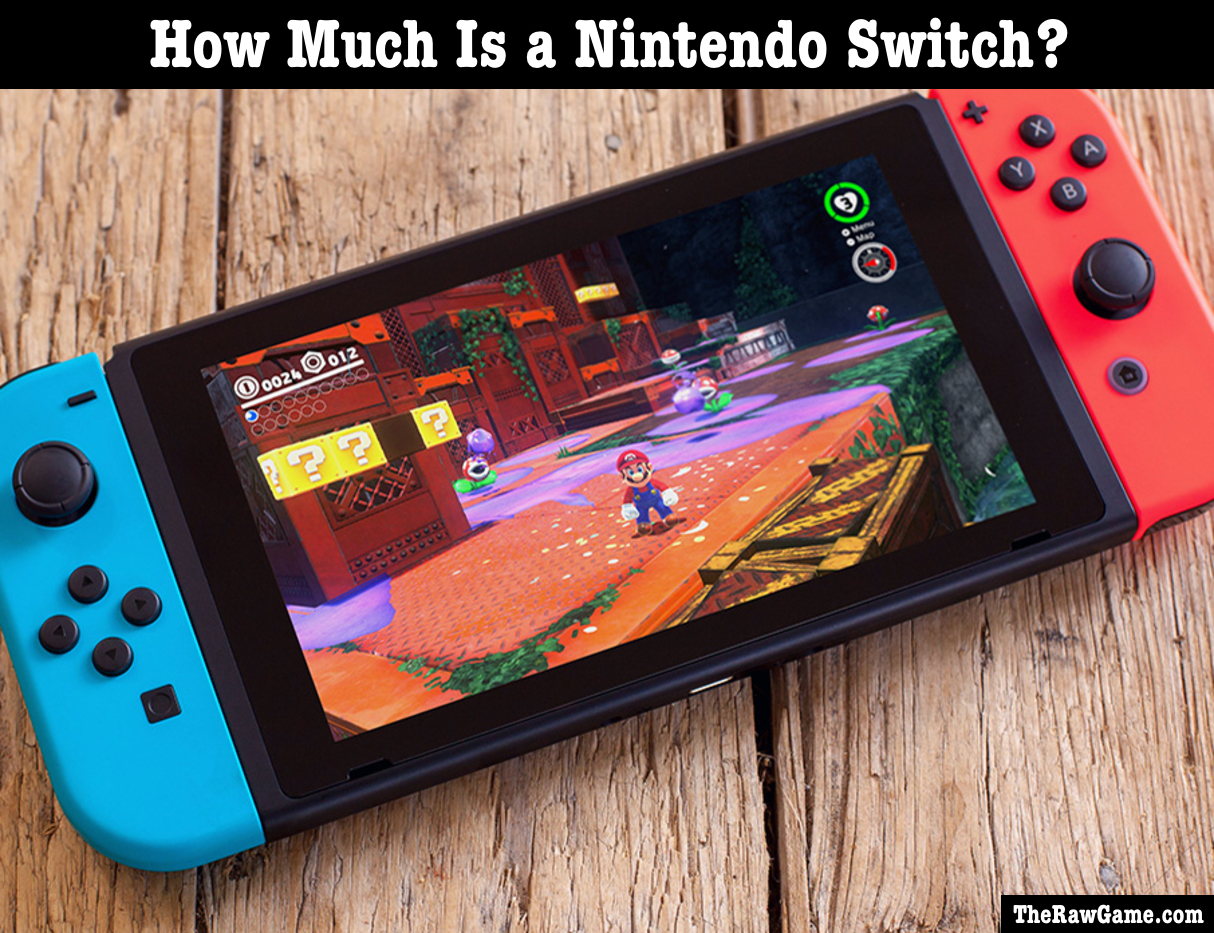 how much is nintendo switch